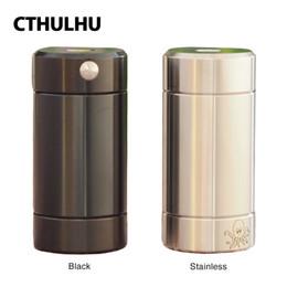 Cthulhu Tube MOD avec double puce Advanced MOSFET Alimenté par une seule batterie 18650/18350 PAS de batterie E cig MOD ? partir de fabricateur