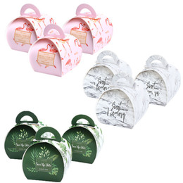 christmas gift box cake Coupons - Wedding Favors and Paper Gift Boxes with Handles Candy Gift Bag Package Bags Cake Box Birthday Party Decoration Supplies