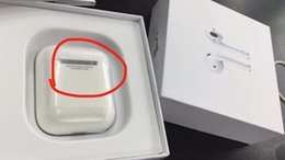 2019 stimme bluetooth kopfhörer air Bluetooth 5.0 Doppelohr-Kopfhörer-Headset als SuperCopy AlrPods funktioniert Touch, Sprachsteuerung, Kopfhörer für iOS Android-Pods rabatt stimme bluetooth kopfhörer