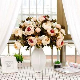 Deutschland Künstliche Pfingstrose Blume Brautstrauß Familie Party Dekoration Blumen Hochwertige Hochzeitsdekoration Liefert 18 Farben Versorgung