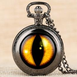 Gelbe taschenuhr online-Mode und Einfache Taschenuhr Quarzwerk Uhren Männer Gelb Vertikale Schüler Muster Taschenuhr Männer Legierung Arabische Zahl