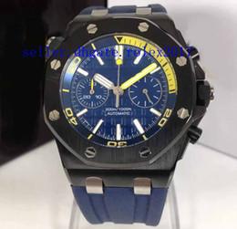 Часы j онлайн-Мужские роскошные подводная лодка J N8 завод Miyota с гладкой подметания flyback хронограф 316L корпус из нержавеющей стали секундомер резиновые часы
