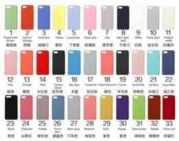 Canada Avoir LOGO Officiel Silicone Case pour iPhone 6 Plus Couverture de téléphone iphone 6 6S X 8 8 plus Retail Box Offre