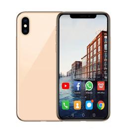 câmera de vídeo rápida Desconto Goophone 6.5 Polegada Max Telefone Dual SIM WCDMA 3G Rosto ID Sem Fio carregador Dual SIM Quad Core Ram 1 GB Rom 16 GB Câmera 8MP Telefone DHL navio rápido