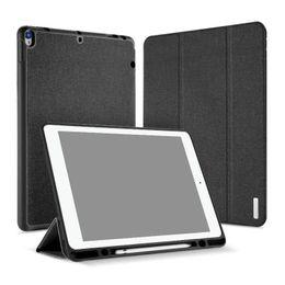 Porzellanhalter fall online-DUX DUCIS Smart Case für iPad Pro 11 12.9 2018 PU-Leder Flip Cover iPad 9.7 Mini 4 mit Stifthalter 50St