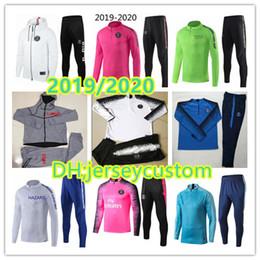 Новый спортивный костюм JOrdaM X psg с капюшоном для Лиги чемпионов Спортивный тренировочный костюм JordAM MBAPPE 2019/20 psg POGBA soccer HOODI от