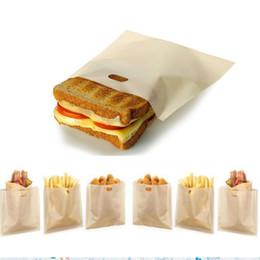 2019 pesca de pollo Bolsas antiadherentes para tostadoras Reutilizables y resistentes al calor Fácil de limpiar, ideal para sándwiches Pasteles Pizza Rebanadas Pollo Nuggets Pescado Vegetal pesca de pollo baratos