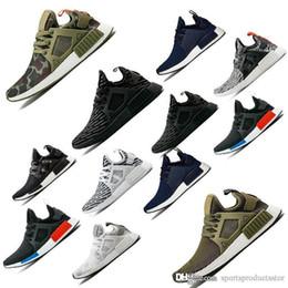 zapatos de camuflaje para mujer Rebajas 2019 NMDS XR1 zapatos de diseño para hombre mujer hombre Japón Onix gris Bred Zebra pato Camo Femme Homme zapatos de diseño