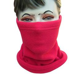Canada 2018 Hot New Unisexe 3-en-1 polyvalente polaire polaire Snood Hat femmes hommes cou chauffe plus écharpe Beanie Balaclava 3 couleurs Offre