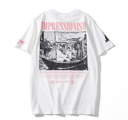 camisetas al por mayor de marcas famosas Rebajas CDG Commes JUEGO hombre del diseñador camisetas OFF con el corazón de camisetas deportivas des Garcons blanca de banda Pablo camisas para el verano VETEMENTS A5