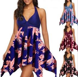 Argentina Vestido largo de noche de verano Boho Maxi vestido de fiesta Vestidos de playa Vestido floral Halter Vestido de verano 2019 Suministro