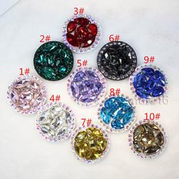 Teléfono celular de la flor online-Soporte universal universal para teléfono celular con soporte para los titulares de diamantes de imitación de diamante de 360 grados para iPhone X Samsung