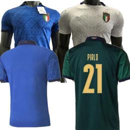 nova zelândia futebol Desconto 2020 ITALY Futebol dos homens Camisola de Futebol 20 21 Italia Bonucci INSIGNE JORGINHO camisas do futebol Italiana de Futebol