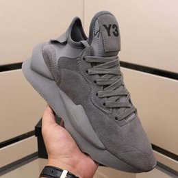 Y3 chaussures de basket-ball en Ligne-Hommes Chaussures Y3 Kaiwa Chunky Chaussures de course plate-forme de basket-ball Y3 Sport Sneakers formation runner Casual Chaussures pour hommes p13