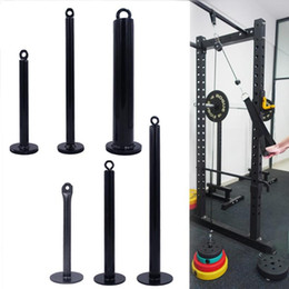 2020 ladestift Loading Pin Mit Karabiner Gymnastik-Gewicht Bearing Hantel Bracket Krafttraining für KDK Übungen Crossfit rabatt ladestift