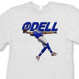 Tee shirt ny online-Odell 13 Beckham Jr The Catch T shirt Jersey Ny Giants Tee Shirt