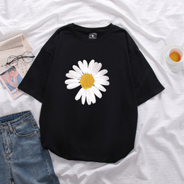 2021 g camicie dragon PEACEMINUSONE T-shirt G-Dragon Daisy T-shirt estiva da uomo Donna Primavera Hip Hop Tee PEACEMINUSONE Plus Size Top 13 colori S-5XL