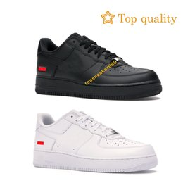 neu gestaltete schuhe Rabatt Nike Air Force 1 Low AF1 Dunk Shoes 1 Low-Mann-Turnschuh-Frauen-Schuhe Weiß Schwarz Rot Forces Sport-Schuh-Größe mit Kasten