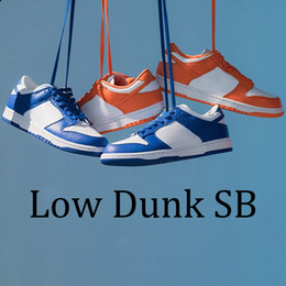 2020 cravate ronde Mode faible dunk confortable Chunky Dunky chaussures Varsity plate-forme royale Travis tie-dye université noir blanc baskets vert pin rouge cravate ronde pas cher