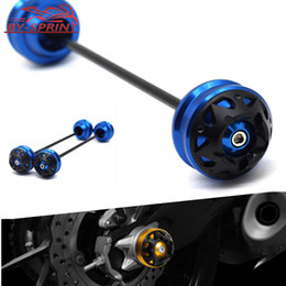 Motocycle Front Axle Fork Crash Sliders Wheel Rear Wheel Drop Protection Ball For G310GS G310R