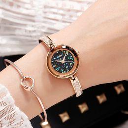 Relogio Feminino GEDI Brand Luxury Exquisite Bracelet Watch Women Fashion Elegant Quartz Watch Ladies Rose Gold Wrist Watch CX200720