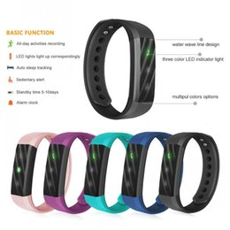 Thermometerfrei online-Newest ID115 FITBIT TW64 SmartBand wristband with digital thermometer Fitness Track Bluetooth for IOS & Android Veryfit Waterproof DHL FREE