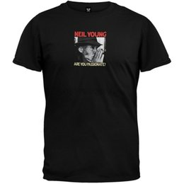 Neil junges t-shirt online-Neil Young - Are You Passionate Adult Herren T-Shirt