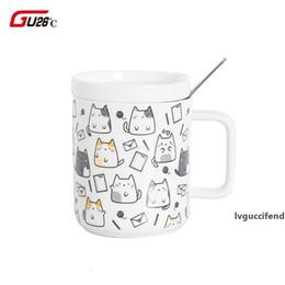 1 Pc Ceramic Mug Adorable Cartoon Unicorn Design Office Coffee Cup