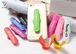 touch u support de support universel Promotion Touch Disc sucer U ventouse Phone Holder Une forme de silicone Sucker pour iPhone Fixation du support Tous les téléphones intelligents 300pcs Universal / lot
