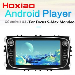Vídeo azul chinês on-line-hoxiao 2DIN 2G + 16G Car Android9.0 Radio Multimedia Video Player Navegação GPS NO DVD para Foco S-Max Mondeo 9 Galaxy C-Max dvd carro