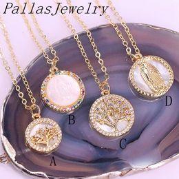Pave Crystal Rhinestone Mother Of Pearl Shell Pendant 6pcs Rainbow Abalone Paua Shell Pendant