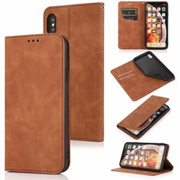 2021 caixa da aleta do iphone PU Leather flip stand cartão Slots carteira Magnet Buckle Case for iphone11 pro Max XS MAX XR 6 7 8 PLUS Samsung S20 PLUS S20 Ultra S10 PLUS
