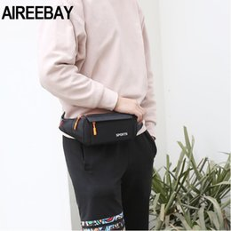 Waist Pack Women Running Waterproof Waist Bag Mobile Phone Holder Men Gym Fitness Travel Pouch Belt Pink Chest Bags
