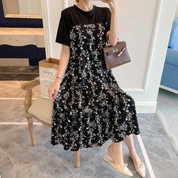 YSJERA Womens Leopard Paisley A-Line Loose Cotton Spaghetti Strap Tank Dress