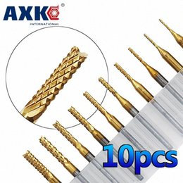 1.0mm Carbide End Mill Engraving Bit Carving Drill for SMT CNC PCB Cutter Hot