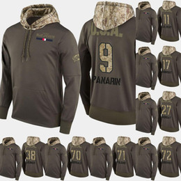 Servicio de saludo con capucha online-Columbus Blue Jackets Salute to Service Hoodies 17 Brandon Dubinsky 91 Anthony Duclair 71 Nick Foligno Hockey Sweatershirt Jerseys