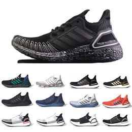 scarpe sportive adidas Sconti Adidas Cloud White Ultra boost 2019 Ultraboost Mens Running shoes Clear Refract Oreo Primeknit 5.0 Dark Pixel Active orange sports trainer men women sneakers
