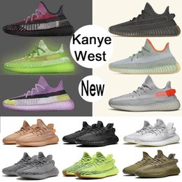 Zapatos tenis de arcilla online-kanye west boost sply 350 v2 hombre talla 13 Asriel Israfil Cinder Desert Sage Earth podría blanco Antlia Black Clay Static Zebra Womens Designer Run Shoe Sneakers