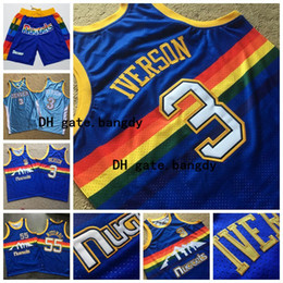 maillots de basket-ball mutombo Promotion Hommes Nikola Denver Mitchell & Ness