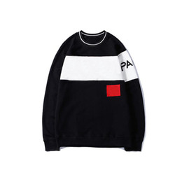 Pulls de designer en Ligne-20fw Sweat à capuche Sweather for Men Automne Pullovers Pull Sweat-shirt avec lettres Fashion Mens Sweaters Vêtements S-2XL-