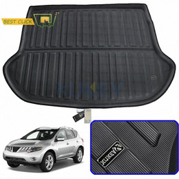1pcs Black Rubber Car Mat Cargo Liners Car Boot Liner Cargo Mat Cargo Tray Floor Mat Cargo Cover Rear Trunk Mat Trunk Liner Tray for Buick Envision 2014 2015 2016 2017 2018 2019 2020