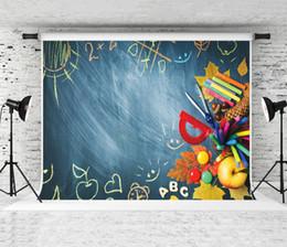 Vinyl Photography Backdrop Photo Prop Rocket Chalkboard