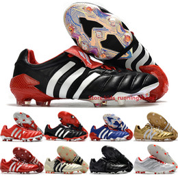 Grandes chaussures de football en Ligne-Predators Predators Mutator Mania FG Tourmenteur Hommes Football Revenge Chaussures Champagne 6.0 Big Boys Football Outdoor Crampons Taille 6,5 à 11