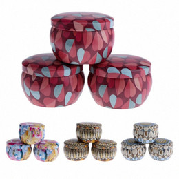 and Sweets Gifts Style 1 Party Favors Camping CEREALY Candle Making Tin Jars Reusable DIY Candle Making kit Holder for Dry Storage Spices