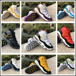 or suptempo Promotion Nike Air More Uptempo Hot vente Plus Uptempo Chaussures de basket olympique Release Bulls Or Varsity Maroon mode Black Men suptempo Scottie Pippen Chaussures de sport