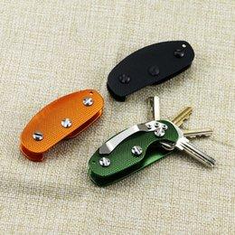 Portable Smart Key Holder Clip Folder Organizer U Shaped Key Chain  Gear