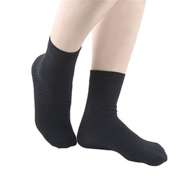 Dicke schwarze socken frauen online-Frauen-Sportsocken Neue Anti Skid Feuchtigkeit Wicking Breath Thick Black Seamless Sportsocken