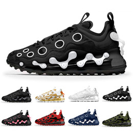 Chaussures hommes de vache en Ligne-Nike air max 720 Ispa airmax Cow Black Reflect Silver 720 ISPA Mens Running Shoes Summit White Zapatos 720s Men Women Trainers Sports Designer Sneakers des chaussures