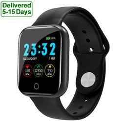 rappel de message bracelets intelligents Promotion I5 Smart Watch d'appel Rappel du message Appuyez sur Time Alarm Météo sommeil Fitness Tracker Sport intelligent Bracelet Wristband pour Android IOS Smartwatch