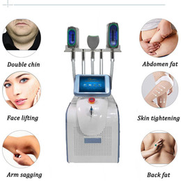 Рукоятка для криолиполиса онлайн-360 Замораживающая жирная машина Body Contour Machine 3 ручки CryoliPolysis Mather с сертификацией CE Бесплатная доставка